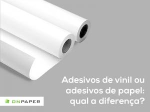 Adesivos de vinil ou adesivos de papel: qual a diferença?